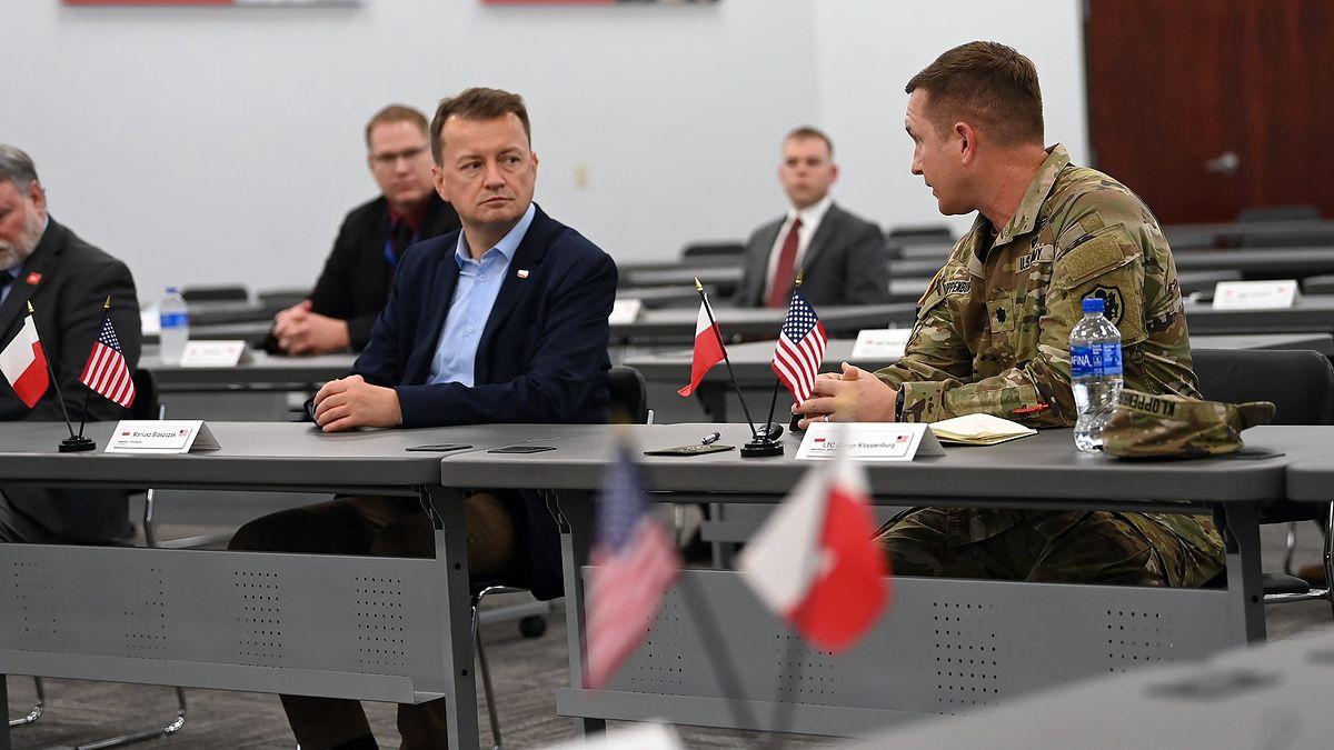 Minister Mariusz Błaszczak z wizytą w USA