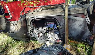 Tragedia na drodze w Woli Filipkowskiej