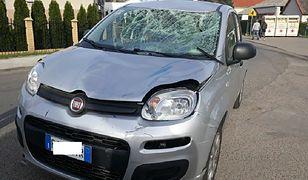 Samochód miał włoskie tablice rejestracyjne, ale jechał nim Polak