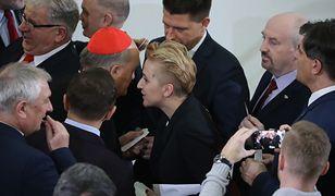 Spotkanie posłanki i kardynała