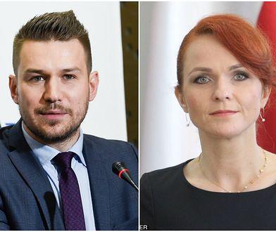 Szefowie CIS i Kancelarii Sejmu Andrzej Grzegrzółka i Agnieszka Kaczmarska zostaną na swoich stanowiskach