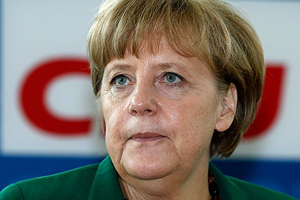 Niemiecka kanclerz Angela Merkel