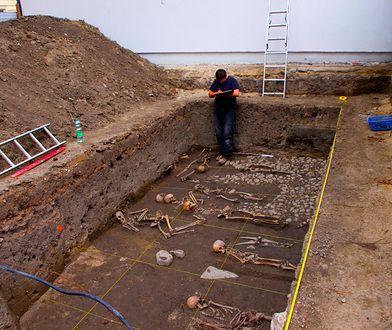 Chojnice - na placu budowy odkryto szczątki wampira?