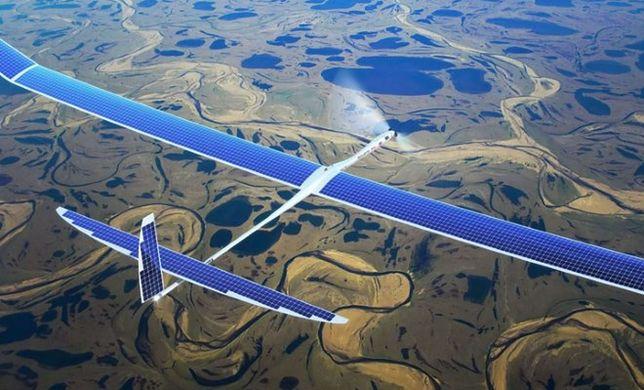 Solarne drony od Google'a dostarczą internet z nieba