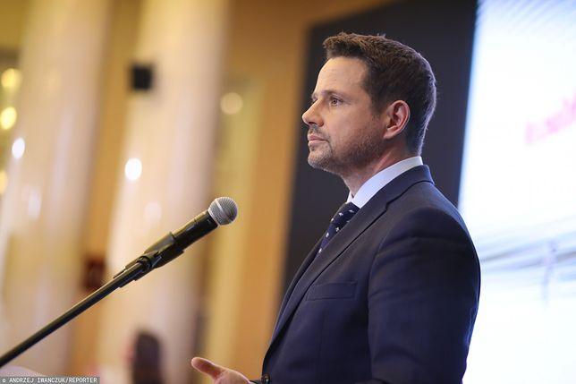 """Rafał Trzaskowski podsumował pierwszy rok prezydentury. """"To był trudny rok"""""""
