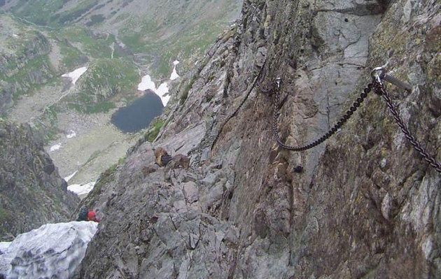 Najtrudniejsza trasa w Tatrach