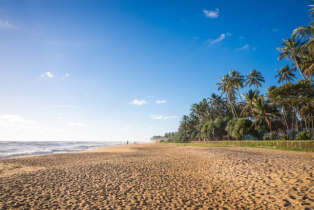 Piaszczyste plaże Kalutary
