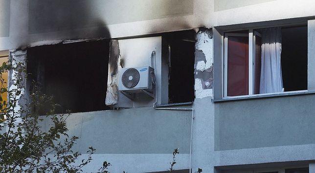 Eksplozja gazu w 10-piętrowym budynku. Ewakuacja mieszkańców [GALERIA]