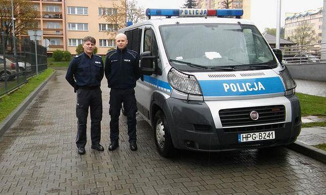 """Pościg ulicami Trzebini. Policjanci usłyszeli: """"żona rodzi"""""""