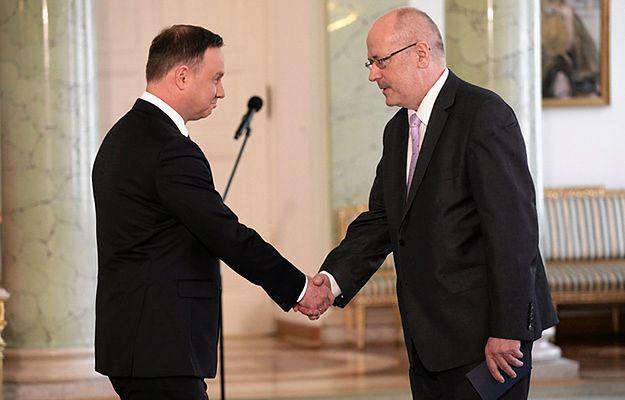 Prezydent przyjął ślubowanie od sędziego Trybunału Konstytucyjnego Zbigniewa Jędrzejewskiego