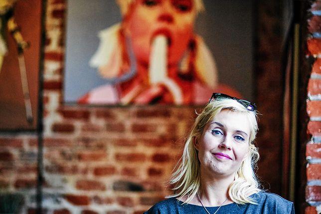 """""""Jeśli się nie zgadzamy, to jest gwałt"""". Marta Frej obrazem nawiązała do tragicznych wydarzeń"""