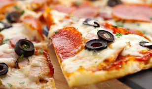 Pizza nie jest najlepszym wyborem na wieczór.