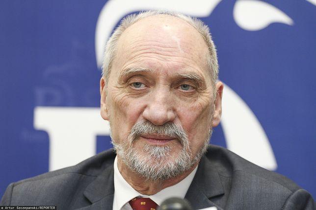Koronawirus. Antoni Macierewicz zabrał głos