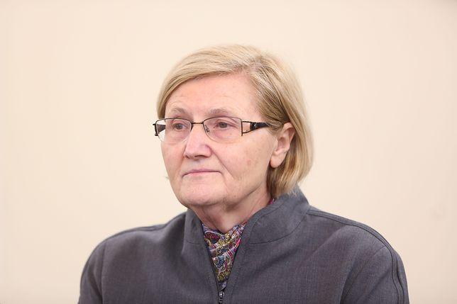 Posłanka PiS Józefa Hrynkiewicz