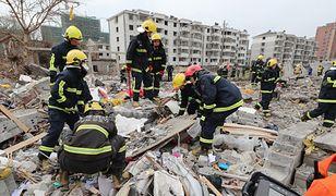 Akcja ratunkowa w Ningbo w Chinach