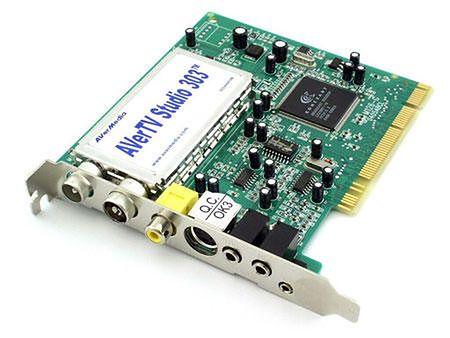 Popularne dawniej karty telewizyjne, służące do odbioru analogowej telewizji na komputerze (źródło: benchmark.pl)