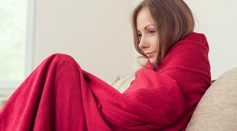 Uczucie zimna podczas gorączki pomaga nam stabilizować temeperaturę