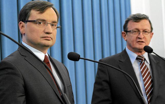 Zbigniew Ziobro i Tadeusz Cymański