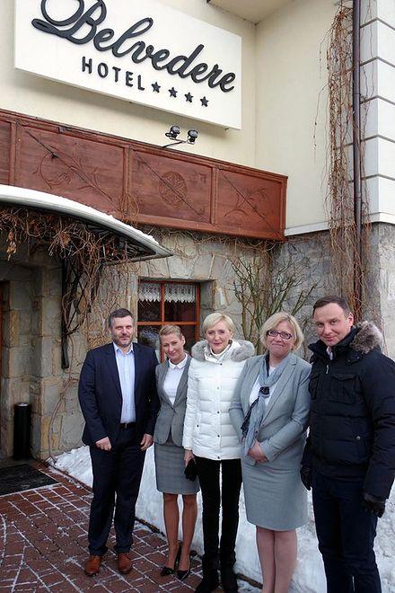 Prezydent Andrzej Duda spał na budowie?Sprawę bada już ABW i prokuratura