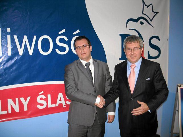 Przemysław Czarnecki jest synem Ryszarda Czarneckiego