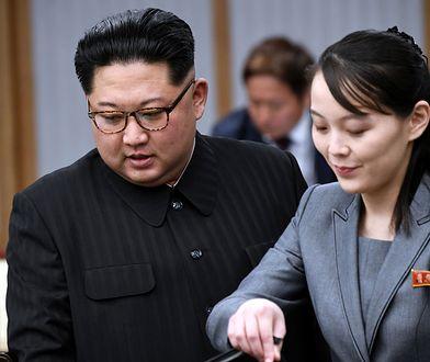 Kim Dzong Un z siostrą Kim Yo-jong