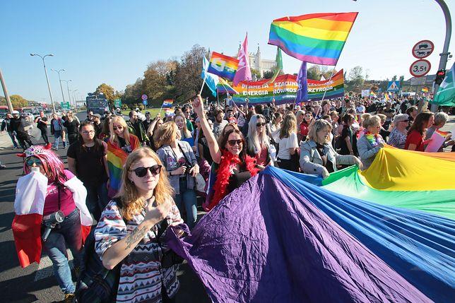 Awantury nie zakłóciły Marszu Równości w Lublinie