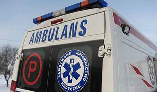 Międzyrzec Podlaski: śmiertelny wypadek na trasie krajowej nr 2 do Białej Podlaskie. Duże utrudnienia