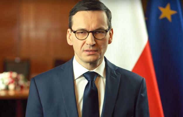 Premier Mateusz Morawiecki wygłosił orędzie