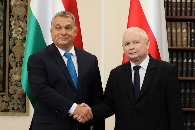 """""""Politico"""" ostro o Kaczyńskim i Orbanie"""