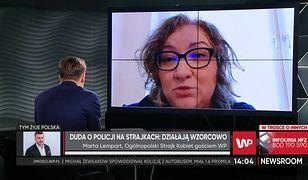 """Marta Lempart odpowiada na słowa Andrzeja Dudy. """"Prezydent ma problem"""""""