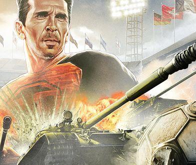 """Co robi Gianluigi Buffon podczas mundialu? Komentuje mecze… czołgów w """"World of Tanks"""""""