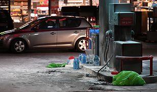 Gdańsk. Samopodpalenie na stacji paliw. Nieoficjalne: to podejrzany o morderstwo