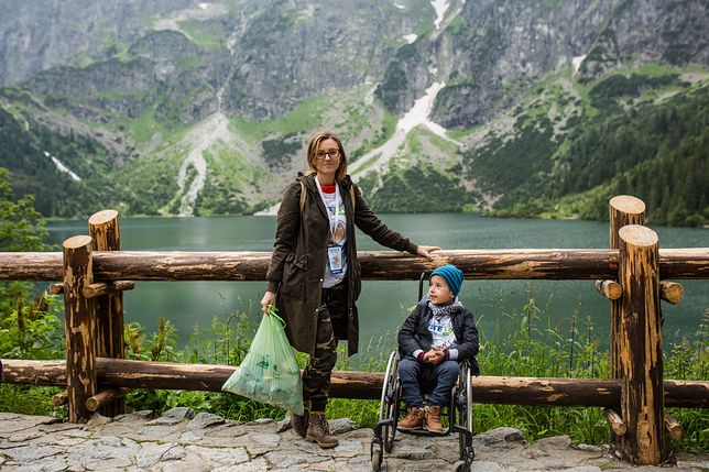 """6-letni Arek znów nad Morskim Okiem. """"Jestem zszokowana zachowaniem ludzi"""" – pisze jego mama"""