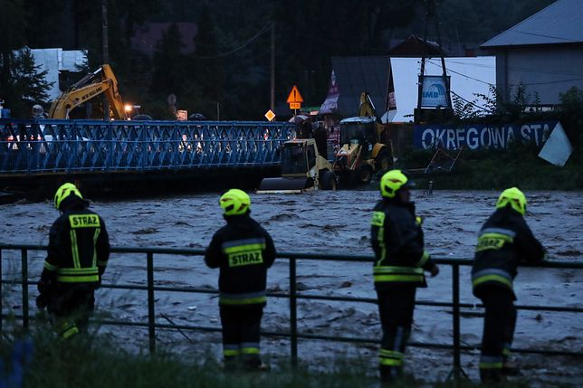 Podtopienia na południu Polski. Ponad 1000 interwencji straży pożarnej