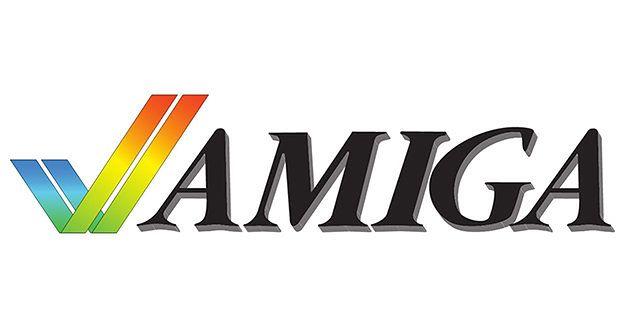 Pierwsze logo systemu Amigi
