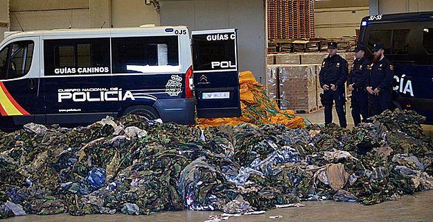 W Hiszpanii zarekwirowano 20 tys. mundurów dla dżihadystów