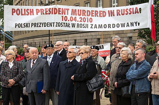 """""""Kaczyński zamordowany""""; incydent na otwarciu bulwaru"""