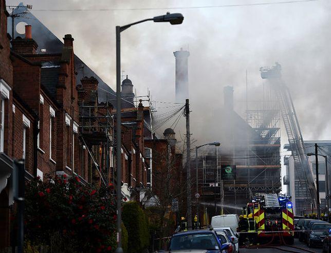 Groźny pożar w Londynie. Płonie centrum kultury