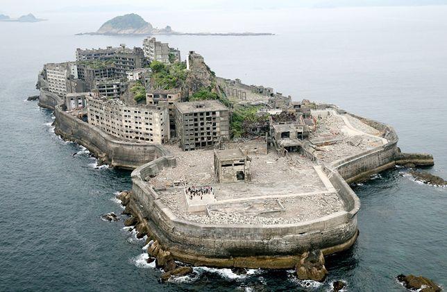 Wyspa Hashima, Japonia