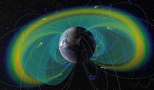 Pole magnetyczne Ziemi.