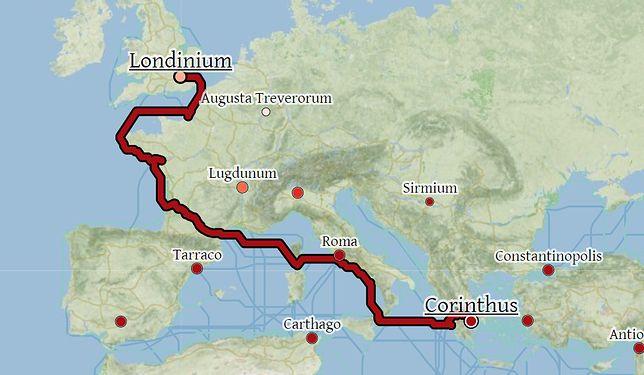 Starożytni Rzymianie byli genialnymi nawigatorami