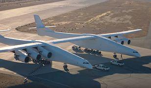 Stratolaunch to największy samolot świata
