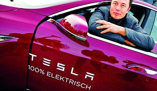 Elon Musk w Tesli