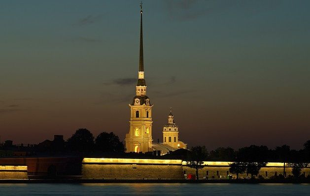 Twierdza Pietropawłowska, Sankt Petersburg, Rosja