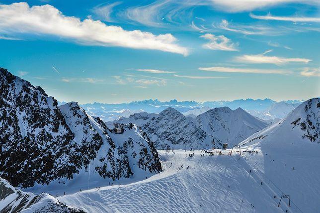 Zagrożone miejsca - alpejskie lodowce