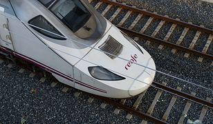 Pociąg nie jechał z dużą prędkością