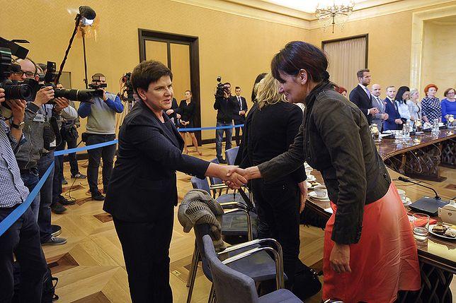 Spotkanie premier z osobami pokrzywdzonymi przez wymiar sprawiedliwości