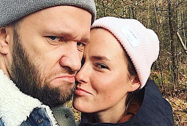 Olga Frycz i Grzegorz Sobieszek tworzą naprawdę szczęśliwą parę.