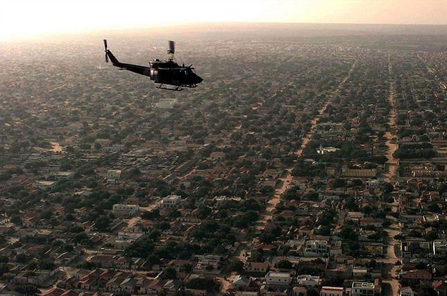 Śmigłowiec USA nad Mogadiszu