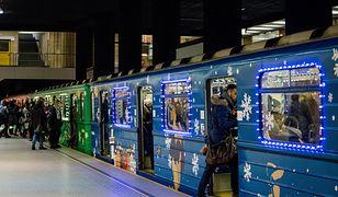 Warszawa: wiemy, jak będzie wyglądało świąteczne metro. Pojawi się już 6 grudnia